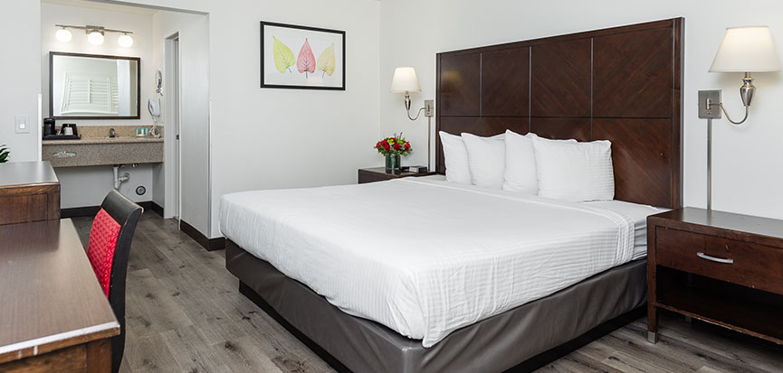 King Room at Alpine Inn Anaheim, California