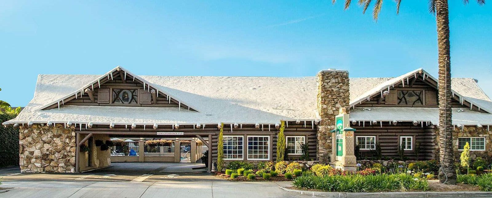 Location of Alpine Inn Anaheim, California