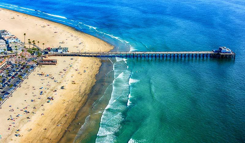 Newport Beach at California